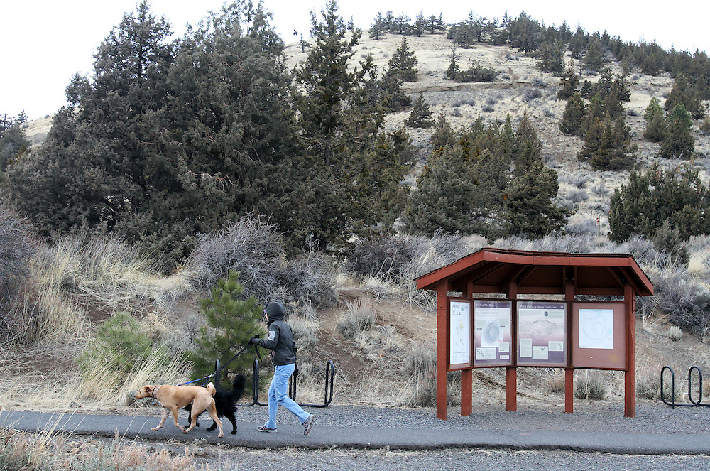 Pilot Butte, where many locals hike on their lunch breaks. Craft beer permeates the culture in Central Oregon city of Bend, with 10 breweries serving pints, growlers and kegs to a community of less than 90,000. Photographed Wednesday, April 25, 2012. Assignment ID 30125094A