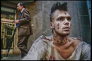 Tattooed Man, City of London, England - TIME LIFE BOOKS (USA)