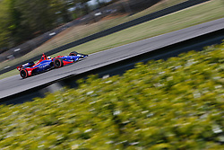 April 20, 2018 - Birmingham, Alabama, United States of America - April 20, 2018 - Birmingham, Alabama, USA: ALEXANDER ROSSI (27) of the United States takes to the track to practice for the Honda Grand Prix of Alabama at Barber Motorsports Park in Birmingham, Alabama. (Credit Image: © Justin R. Noe Asp Inc/ASP via ZUMA Wire)