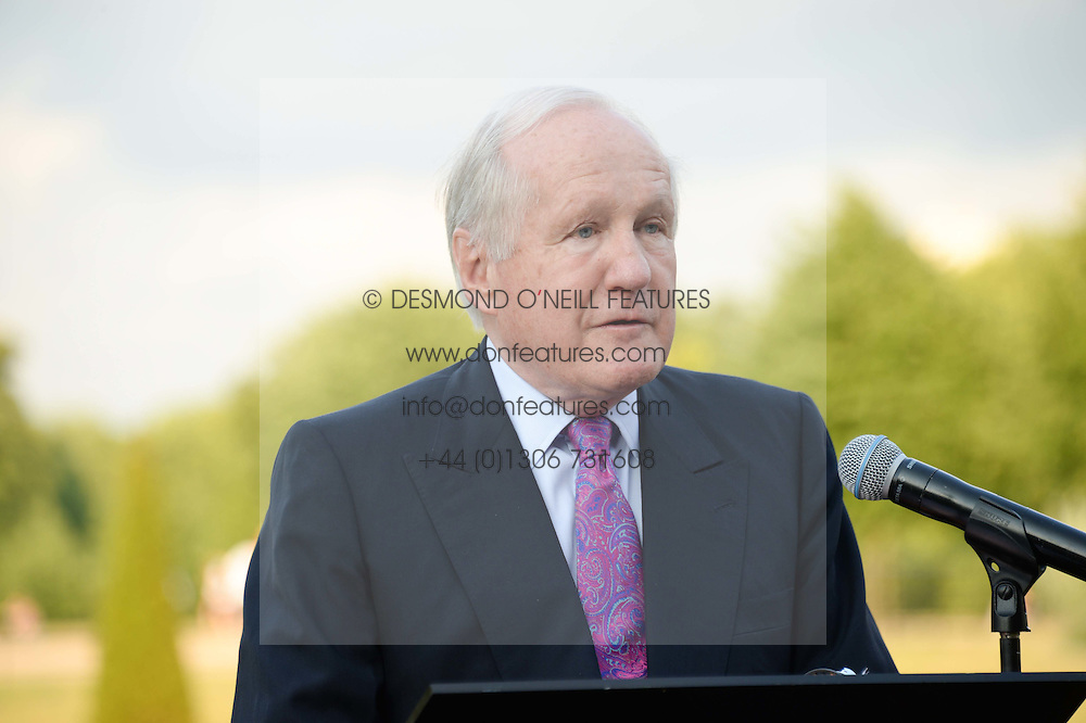 CHARLES MACKAY Chairman of Historic Royal Palaces at the Fashion Rules Exhibition Opening at Kensington Palace, London W8 on 4th July 2013.