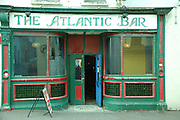 UK, Northern Ireland, County Antrim, Portrush Entrance to the Atlantic Bar