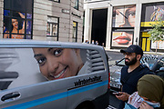 In the week that many more Londoners returned to their office workplaces after the Covid pandemic, the faces of women are seen around a junction in the City of London, the capital's financial district, on 8th September 2021, in London, England.