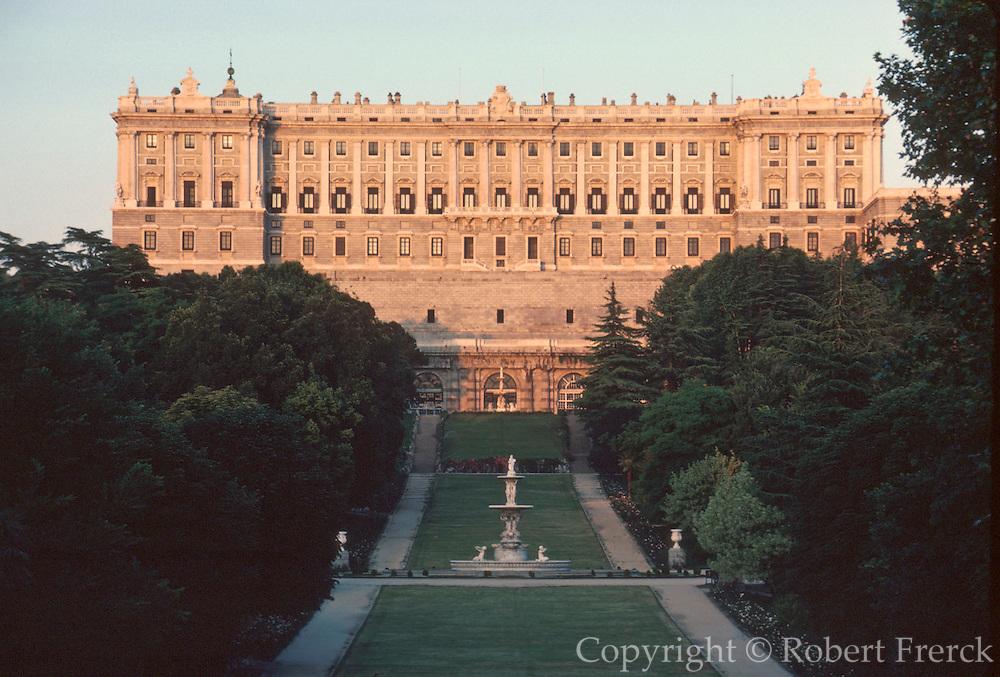 SPAIN, MADRID, MONUMENTS Palacio Real or Royal Palace, 1734
