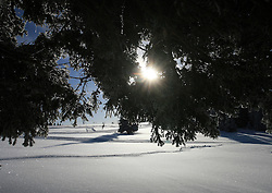 Rogla, cross country center, on January 17, 2009, in Rogla, Slovenia.  (Photo by Vid Ponikvar / Sportida)