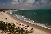 Extremoz_RN, Brasil...Na foto, vista aerea da praia de Genipabu em Extremoz, Rio Grande do Norte...The panoramic view of Genipabu beach in Extremoz, Rio Grande do Norte...Foto: LEO DRUMOND / NITRO