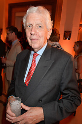 LORD POWELL at the Veuve Clicquot Business Woman Awards held at Claridge's, Brook Street, London on 11th May 2015.