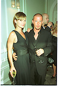 Kate Moss; Alexander Mcqueen, LiÕl Kim Mac cosmetics presentation and dinner. Great Eastern Hotel. 6 June 2001. SUPPLIED FOR ONE-TIME USE ONLY> DO NOT ARCHIVE. © Copyright Photograph by Dafydd Jones 248 Clapham Rd.  London SW90PZ Tel 020 7820 0771 www.dafjones.com<br /> Kate Moss; Alexander Mcqueen, Li'l Kim Mac cosmetics presentation and dinner. Great Eastern Hotel. 6 June 2001. SUPPLIED FOR ONE-TIME USE ONLY> DO NOT ARCHIVE. © Copyright Photograph by Dafydd Jones 248 Clapham Rd.  London SW90PZ Tel 020 7820 0771 www.dafjones.com