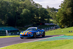 James Blake-Baldwin pictured while competing in the BRSCC Mazda MX-5 SuperCup Championship. Picture taken at Cadwell Park on August 1 & 2, 2020 by BRSCC photographer Jonathan Elsey