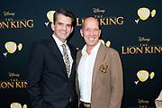 Nederlandse galapremiere van de Disney-klassieker Lion King in Pathe Tuschinski, Amsterdam.<br /> <br /> Op de foto:  Maurice Wijnen