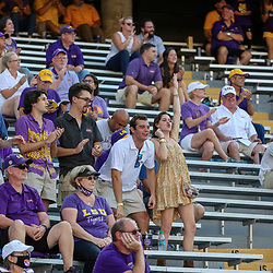 Sep 26, 2020; Baton Rouge, Louisiana, USA; LSU Tigers fans seen not wearing masks during the second half against the Mississippi State Bulldogs at Tiger Stadium. Mandatory Credit: Derick E. Hingle-USA TODAY Sports