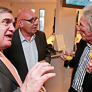 NLD/Amsterdam/20110221 - Boekpresentatie De Sportcanon, Andre Bolhuis in gesprek met Kees Jansma en Freek de Jonge