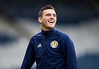 Football - 2018 / 2019 UEFA European Championship Qualifier - Group I: Scotland vs. Cyprus<br /> <br /> Andy Robertson of Scotland during the European Championship Qualifying match between Scotland and Cyprus, at Hampden Park, Glasgow.<br /> <br /> COLORSPORT/BRUCE WHITE