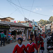 The main street of Ranikhet, India on Dec. 6, 2018, that like most villages in the lower Himalayas has experienced decreased populations year after year as the younger generations move to cities for better economic and educational opportunities.