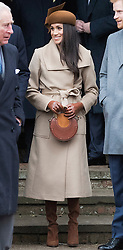Meghan Markle joins The Royal Family as they attend Church on Christmas Day at St Mary Magdalene, Sandringham, Norfolk, UK, on the 24th December 2017. 25 Dec 2017 Pictured: Meghan Markle. Photo credit: MEGA TheMegaAgency.com +1 888 505 6342