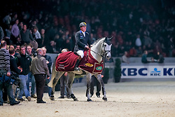 Philippaerts Ludo (BEL) - Cavalor's Winningmood<br /> CSI-W Mechelen 2008<br /> Photo © Dirk Caremans