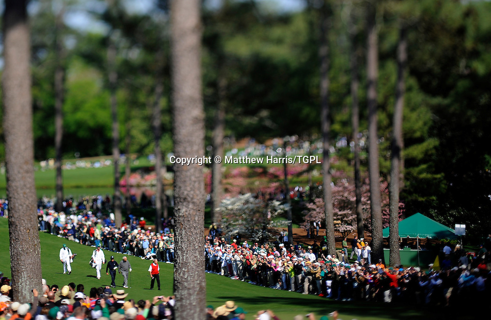 Masters champions and legends Gary PLAYER (RSA),Arnold PALMER (USA) and Jack NICKLAUS (USA) during Par 3 Tournament US Masters, Augusta National,Georgia,USA.