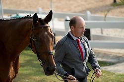 Van Springel Joris, BEL, Lully des Aulnes<br /> Final Horse Inspection Eventing<br /> Olympic Games Rio 2016<br /> © Hippo Foto - Dirk Caremans<br /> 09/08/16