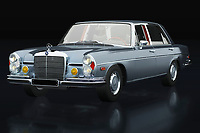 The 1972 Mercedes 300 SEL 6.3 looks like an ordinary everyday Mercedes used by ordinary people. But nothing could be further from the truth! It is a racing machine, a true beast because with such an engine this 1972 Mercedes 300 SEL 6,3 shows many sports cars its rear lights.<br />
