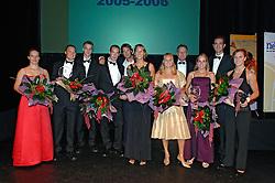 08-10-2006 VOLLEYBAL: GALA 2006: DOETINCHEM<br /> In de schouwburg van Doetinchem werd het volleybalgala 2006 gehouden / Janneke van Tienen, Gijs Ronnes, Jochem de Gruijter, Kristian van der Wel, Jan Willem Snippe, Rebekka Kadijk, Merel Mooren, Mared Grothues, Danielle Remmers, Peter Blange en Frans Loderus<br /> ©2006-WWW.FOTOHOOGENDOORN.NL