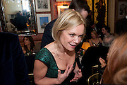 MARIELA FROSTRUP, Graydon Carter hosts a diner for Tom Ford to celebrate the London premiere of ' A Single Man' Harry's Bar. South Audley St. London. 1 February 2010