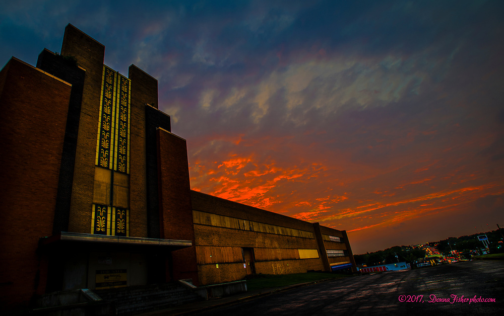 On September 7, 2017 this is a rare look at the former Lehigh Valley Dairy along MacArthur Road near Allentown, Pa.. Built in 1934 by the Lehigh Valley Cooperative Farmers the 350,000-square-foot Lehigh Valley Dairy complex closed in 1989. The grand structure which features an Art Deco façade on its MacArthur Road-facing front awaits re-purposing.     MacArthur Road was named for Gen. Douglas MacArthur in 1942. The township is celebrating the 75th anniversary of the naming of the busy thoroughfare in 2017.