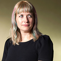 Lauren Buekes at Edinburgh International Book Festival 2014<br /> 9th August 2014<br /> <br /> Picture by Russell G Sneddon/Writer Pictures<br /> <br /> WORLD RIGHTS