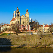 Church of St Raphael Archangel near Neris river, Vilnius, Lithuania