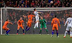 10-10-2016 NED: WK kwalificatie Nederland - Frankrijk, Amsterdam<br /> Nederland verliest met 1-0 van Frankrijk / Maarten Stekelenburg (GK) #1