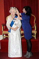 New waxwork of The Queen