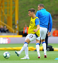 Everton players warm up - Mandatory by-line: Nizaam Jones/JMP - 11/08/2018/ - FOOTBALL -Molineux  - Wolverhampton, England - Wolverhampton Wanderers v Everton - Premier League