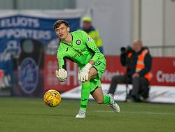 Partick Thistle's sub keeper Jamie Sneddon. Falkirk 1 v 1 Partick Thistle, Scottish Championship game played 17/11/2018 at The Falkirk Stadium.