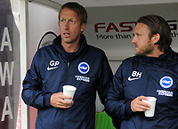 Football - 2019 / 2020 pre-season friendly - Crawley Town vs. Brighton & Hove Albion<br /> <br /> New Brighton manager, Graham Potter, at The People's Pension (Broadfield) Stadium.<br /> <br /> COLORSPORT/ANDREW COWIE