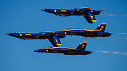The Blue Angels double farvel at the Airshow of the Cascades.