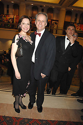 Film maker NICK PARK and his wife at the Morgan Stanley Great Britons Awards at The Guildhall, City of London on 31st January 2008.  Conservative party leader David Cameron presenter a lifetime achievement award to former Prime Minister Baroness Thatcher.<br /> <br /> NON EXCLUSIVE - WORLD RIGHTS (EMBARGOED FOR PUBLICATION IN UK MAGAZINES UNTIL 2 WEEKS AFTER CREATE DATE AND TIME) www.donfeatures.com  +44 (0) 7092 235465