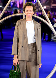 Phoebe Collings-James attending the Fantastic Beasts: The Crimes of Grindelwald UK premiere held at Leicester Square, London.