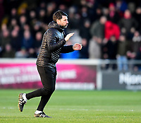 Lincoln City manager Danny Cowley <br /> <br /> Photographer Andrew Vaughan/CameraSport<br /> <br /> The EFL Sky Bet League Two - Lincoln City v Northampton Town - Saturday 9th February 2019 - Sincil Bank - Lincoln<br /> <br /> World Copyright © 2019 CameraSport. All rights reserved. 43 Linden Ave. Countesthorpe. Leicester. England. LE8 5PG - Tel: +44 (0) 116 277 4147 - admin@camerasport.com - www.camerasport.com