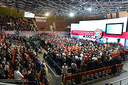 27.11.2015, Audi Dome, Muenchen, GER, FC Bayern Muenchen, Jahreshauptversammlung 2015, im Bild // during the 2015 Annual General Meeting of german football club FC Bayern Munich at the Audi Dome in Muenchen, Germany on 2015/11/27. EXPA Pictures © 2015, PhotoCredit: EXPA/ Eibner-Pressefoto/ Vallejos<br /> <br /> *****ATTENTION - OUT of GER*****