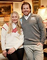 Alpint<br /> FIS World Championships<br /> Aspen Colorado USA<br /> 31.01.2015<br /> Foto: Gepa/Digitalsport<br /> NORWAY ONLY<br /> <br /> FIS Alpine World Ski Championships, preview, NOR ski team, photo shooting. Image shows Ragnhild Mowinckel and Kjetil Jansrud (NOR).