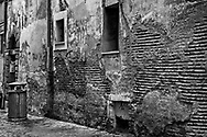 Crumbling Alley, Rome, Italy
