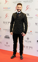 The Global Gift Gala Red Carpet, Wednesday 17th May 2017<br /> <br /> Calum Scott arrives on the red carpet<br /> <br /> The Global Gift Gala is a unique international initiative from the Global Gift Foundation, a charity founded by Maria Bravo that is dedicated to philanthropic events worldwide; to help raise funds and make a difference towards children and women across the globe.<br /> <br /> Charities benefiting from the 2017 Edinburgh Global Gift Gala include the  Eva Longoria Foundation, which aims to improve education and provide entrepreneurial opportunities for young women;  Place2Be which provides emotional and therapeutic services in primary and secondary schools, building children's resilience through talking, creative work and play; and the Global Gift Foundation with the opening of their first 'CASA GLOBAL GIFT', providing medical treatments and therapy for children affected by rare disease.<br /> <br /> (c) Aimee Todd   Edinburgh Elite media