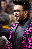 Actor Ranveer Singh being interviewed at the premiere gala screening of the film Gully Boy at the Berlinale International Film Festival, on Saturday 9th February 2019, Berlin, Germany.