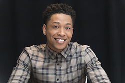 *** USA EMBARGO TILL JAN 02, 2016 *** Jacob Latimore auf der Collateral Beauty Pk in New York / 021216 *** Collateral Beauty press conference in New York, 02 Dec 2016 ***