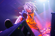 Lamb of God performing at the Pageant in St. Louis on November 7, 2012.