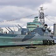 HMS Belfast, London - Museum Ship, River Thames