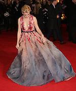 "Nov 10, 2014 - ""The Hunger Games: Mockingjay Part 1""  World Premiere at Odeon Leicester Square, London<br /> <br /> Pictured: Elizabeth Banks <br /> ©Exclusivepix"