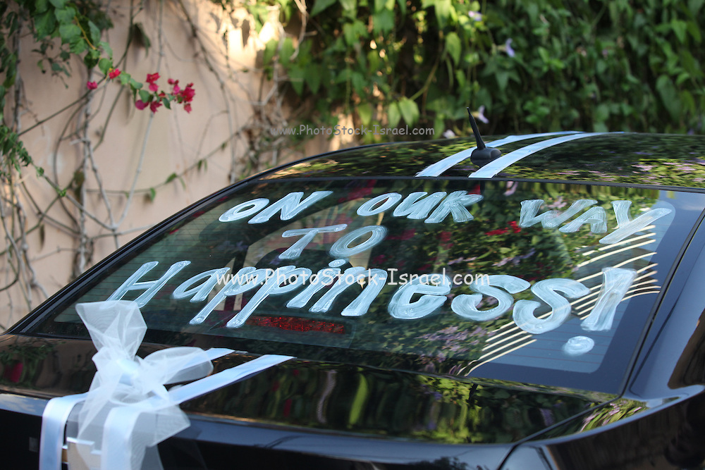 Just Married - On our way to Happiness
