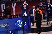 Sarunas Jasikevicius<br /> CSKA Moscow - Zalgiris Kaunas<br /> Euroleague Final Four 2018 - Final 3 - 4 Place<br /> Euroleague 2017/2018<br /> Belgrade, 20/05/2018<br /> Foto M.Ceretti / Ciamillo-Castoria