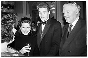 HON JONATHAN HARMSWORTH; VISCOUNT ROTHERMERE, Hon Jonathan Harmsworth's 21st. Claridges. 20 December 1988,<br /> <br /> SUPPLIED FOR ONE-TIME USE ONLY> DO NOT ARCHIVE. © Copyright Photograph by Dafydd Jones 248 Clapham Rd.  London SW90PZ Tel 020 7820 0771 www.dafjones.com