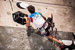 GHISOLFI Stefano of Italy during Finals IFSC World Cup Competition in sport climbing Kranj 2019, on September 29, 2019 in Arena Zlato polje, Kranj, Slovenia. Photo by Peter Podobnik / Sportida