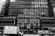 New York. mirror tower .madison and 44st   New York, Manhattan - United states    /  jeu de reflets, miroir ; sur madison et 44em  Manhattan, New York - Etats unis